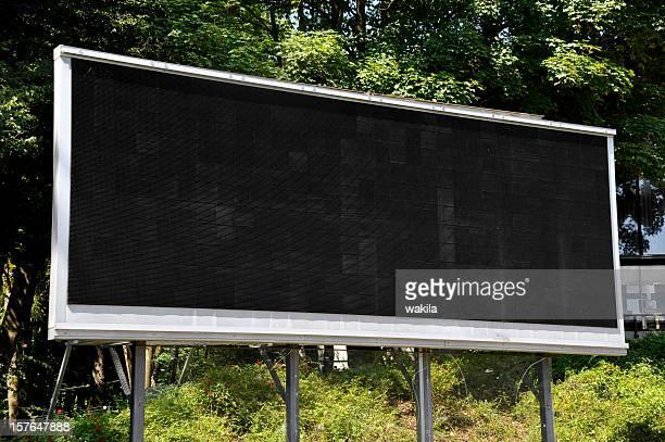 空の LCD スクリーン
