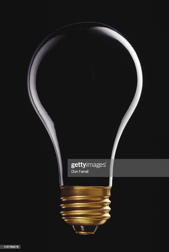 Empty Lightbulb : Stock Photo