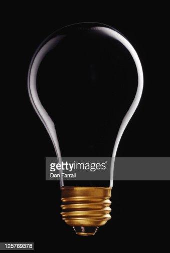 Empty Lightbulb : Stock Photo