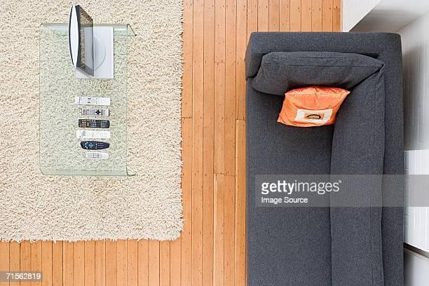 Leere Wohnzimmer