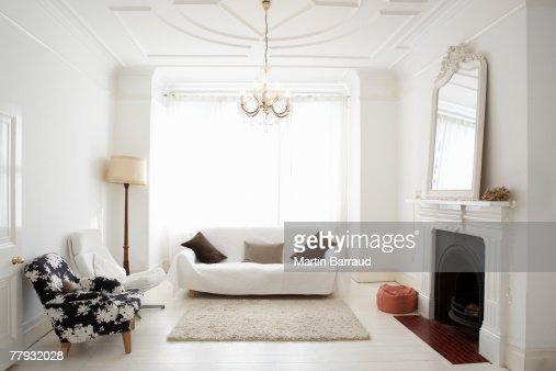 Empty living room : Stock Photo