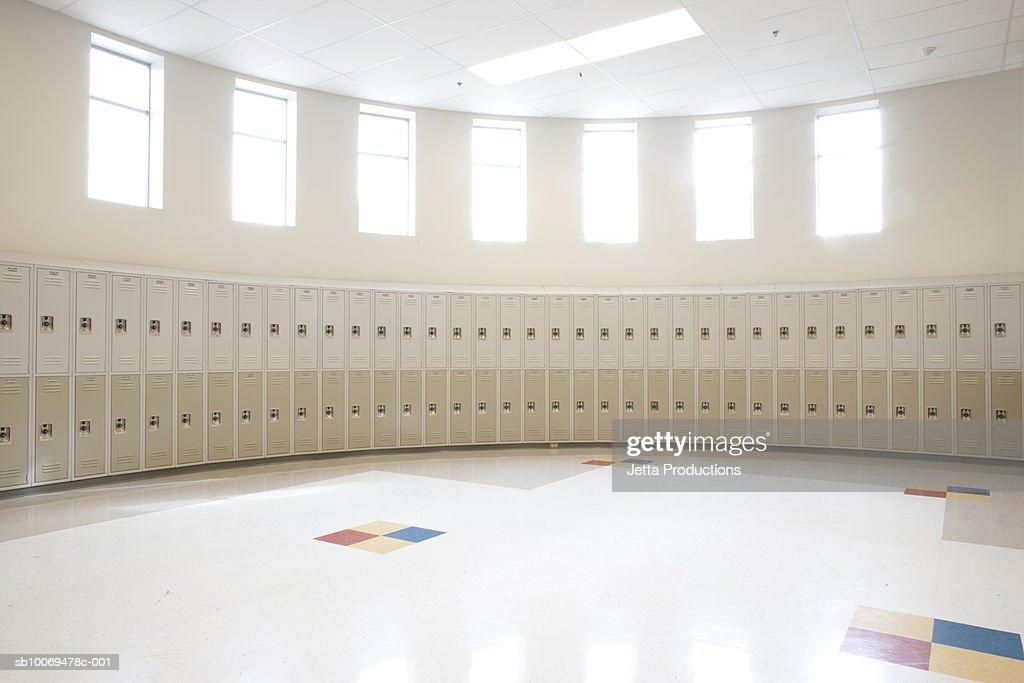 Empty Locker Room In High School Part 58