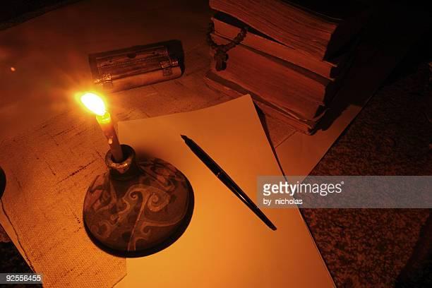 Leere Manuskript