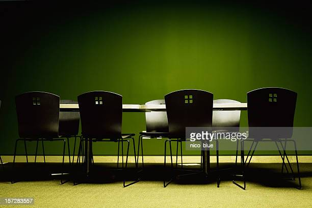 Empty meeting space
