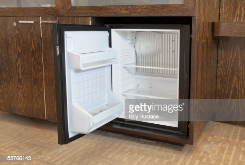 Empty Mini Fridge In A Hotel Room Stock Photo Getty Images