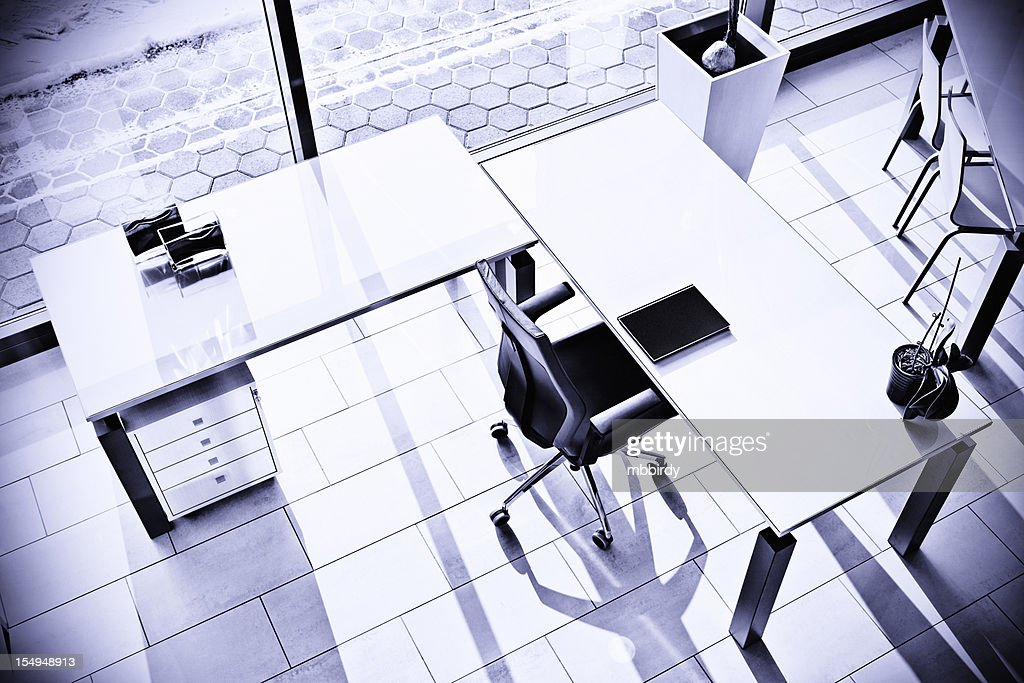 Empty modern office : Stock Photo