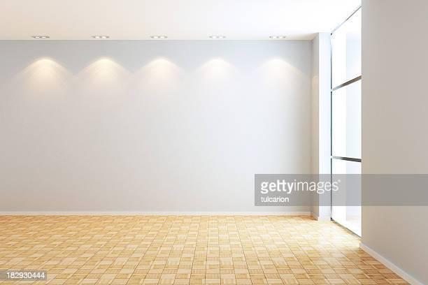 Leere moderne Zimmer