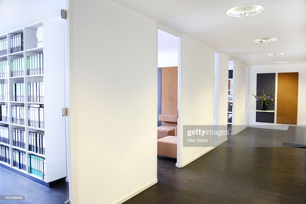 Empty, modern, stylish office space : Stock Photo