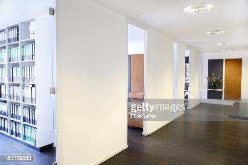 Empty, modern, stylish office space : Stock Photo