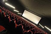 Empty movie theather