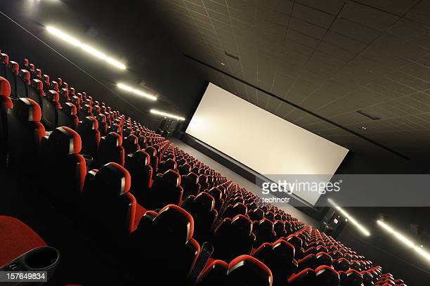 Empty movie theather
