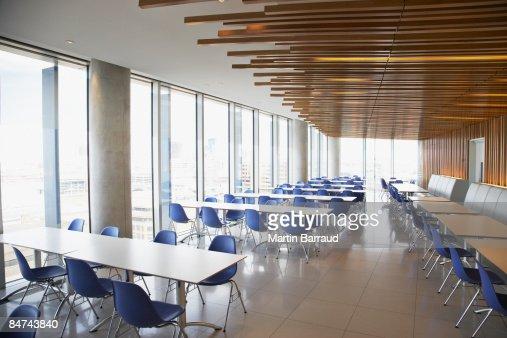 Empty office break room : Stock Photo