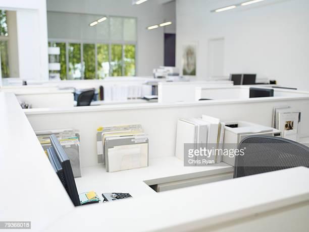 Vuoto ufficio postazioni