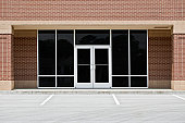 Empty Office or Storefront in Strip Mall