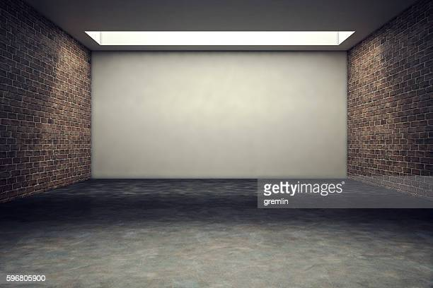 Empty office or studio room