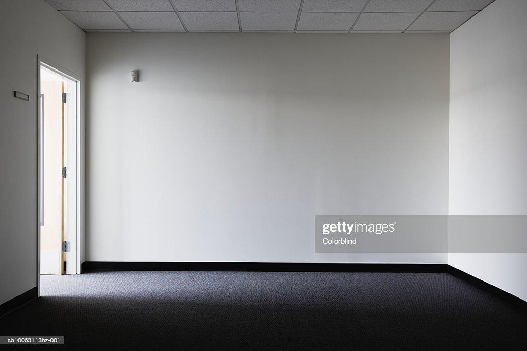 Empty office with door : Stock Photo