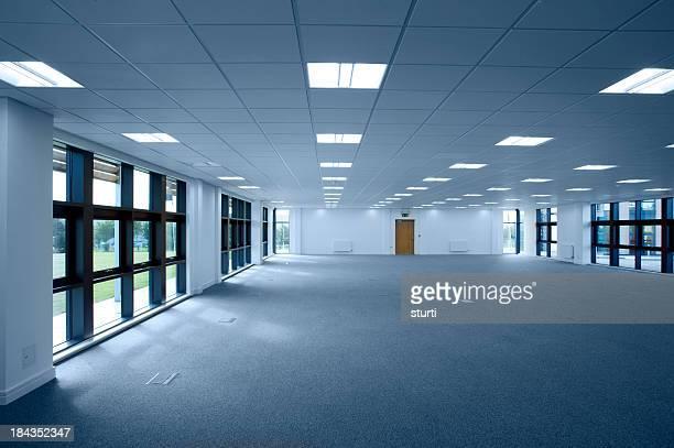 Leere Büros