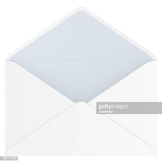 empty open envelope