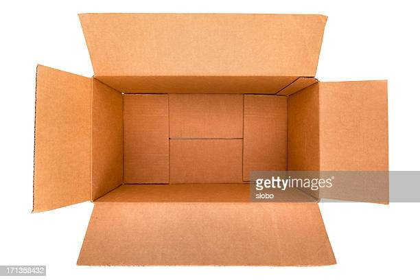 Empty Packaging  Box