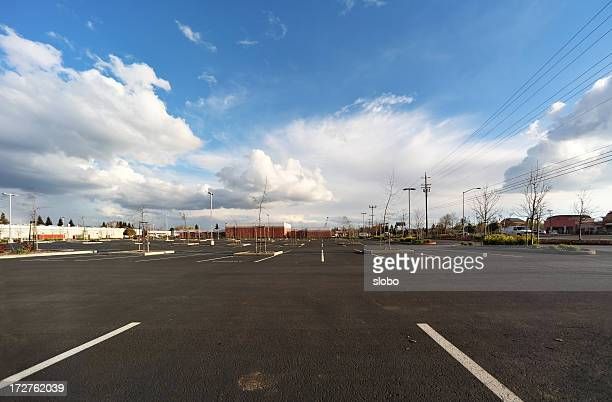 Empty Parking Lot Low