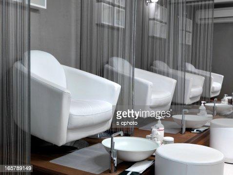 Empty Pedicure Seats