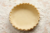 Empty Pie Crust
