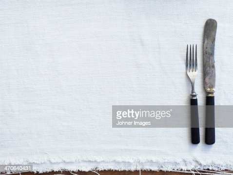 Empty place setting, close-up
