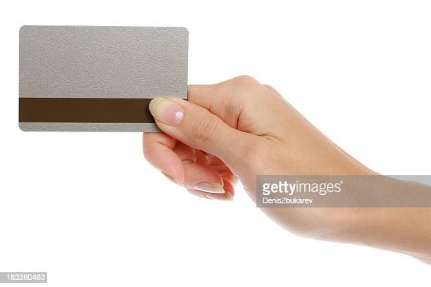 empty plastic card