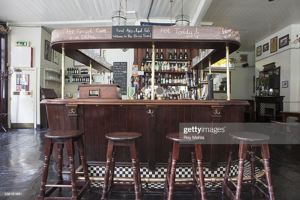 Empty Pub Lounge
