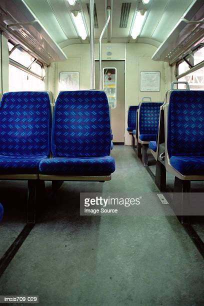 Empty railroad carriage