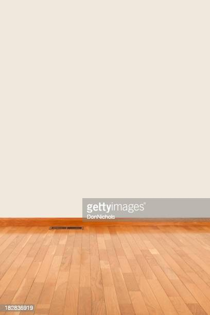 Empty Room and Blank Wall