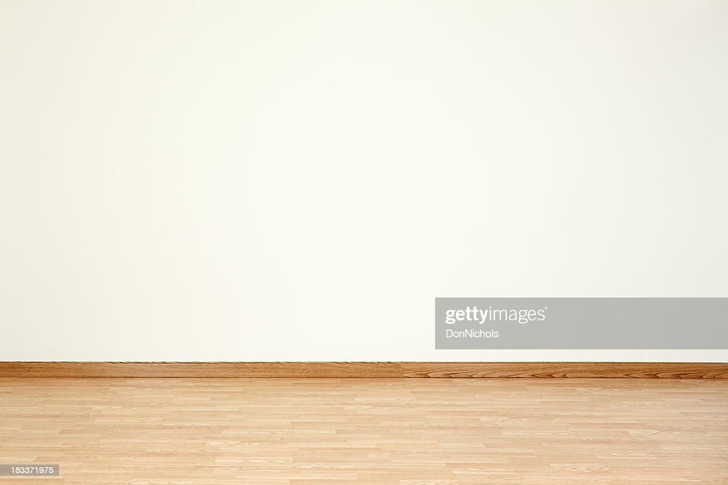 Empty Room And Blank Wall Stock Photo Getty Images