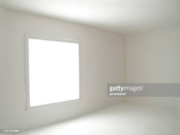 Vuoto camera piena di luce