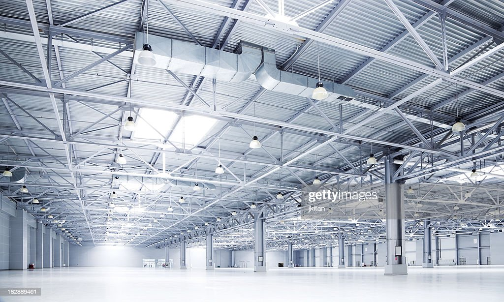 empty room of modern storehouse