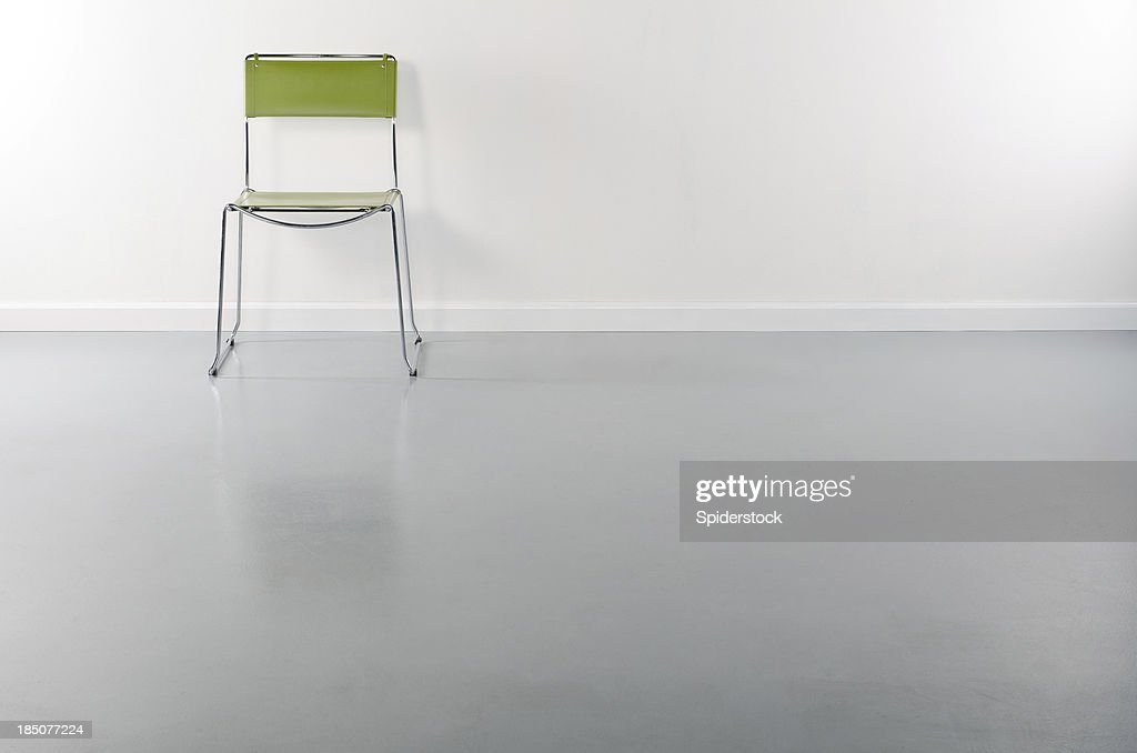 Empty Room WIth 1 Chair