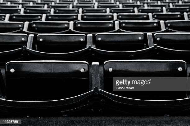 Empty seats in outfield