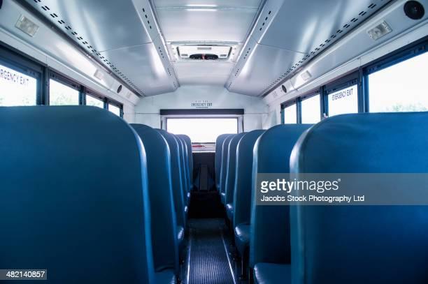 Empty seats on school bus