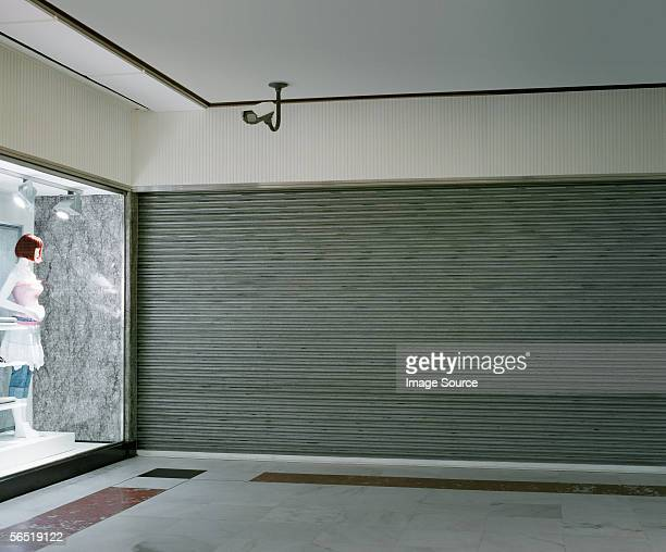 Empty shopping mall