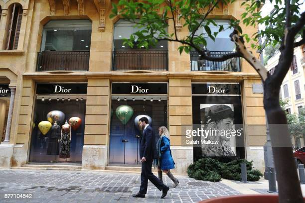 Empty shops make an image of a weak business traffic in downtown Beirut Lebanon on Tuesday November 21 2017 Lebanon's prime minister Saad Hariri is...