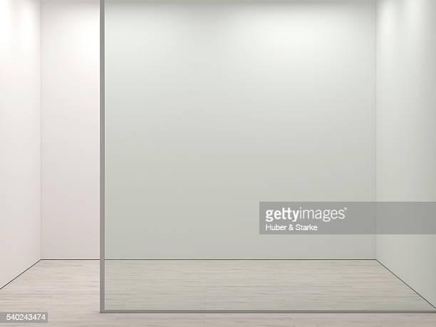 Empty, small room