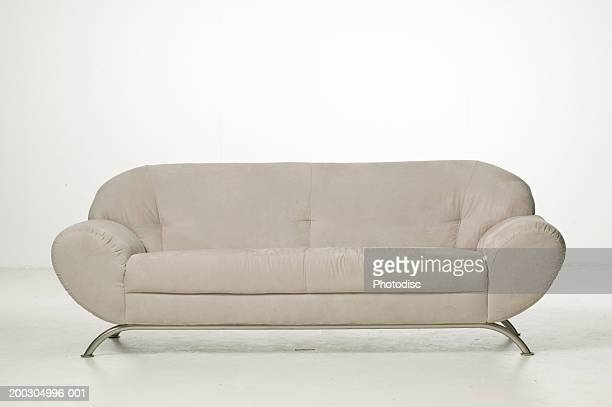 Empty sofa in studio