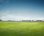 Empty Sports Ground