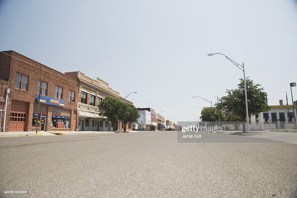 Empty Street : Stock Photo