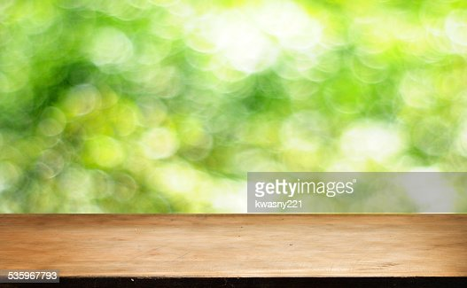 Empty table : Stock Photo
