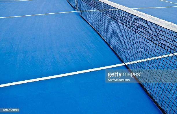 Empty Tennis Court