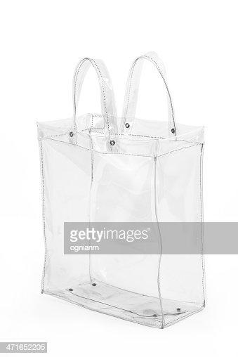 Empty Transparent Shopping Bag Stock Photo | Thinkstock