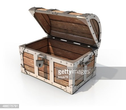 how to open discovered treasure chest