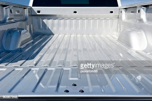 Empty Truck Bed