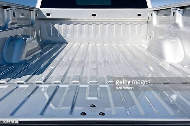 空のトラックベッド