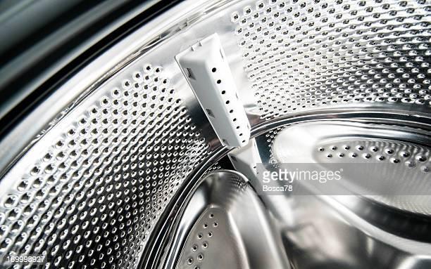 Empty washing machine drum